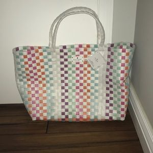 Brand new Kate Spade multicolor tote bag!